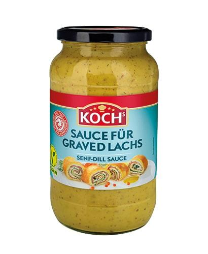 KOCHS Produkte Craved Lachs 1000gr-Glas