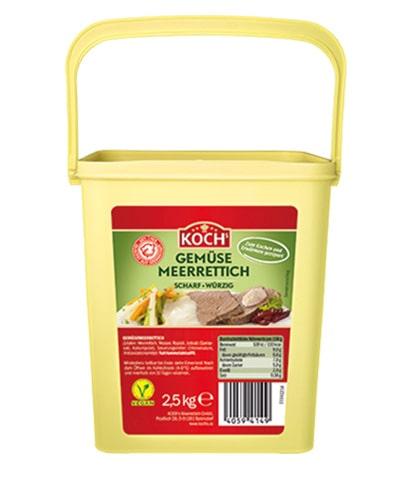 KOCHS Produkte Gemuesemeerrettich 2-5kg-Eimer