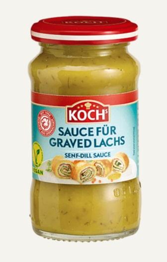 KOCHS Produkt Craved Lachs auf Beige