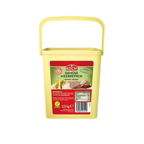 KOCHS Produkte Gemuese-Meerrettich Eimer