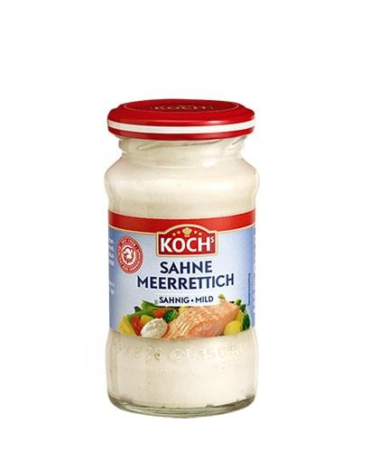 KOCHS Produkte Sahnemeerrettich 135g-Glas
