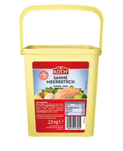 KOCHS Produkte Sahnemeerrettich 2-5kg-Eimer