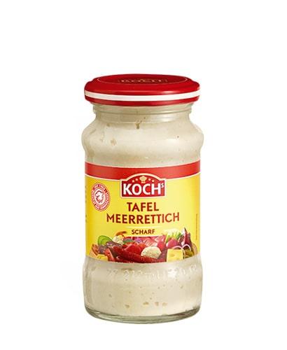 KOCHS Produkte Tafel-Meerrettich scharf 140g-Glas