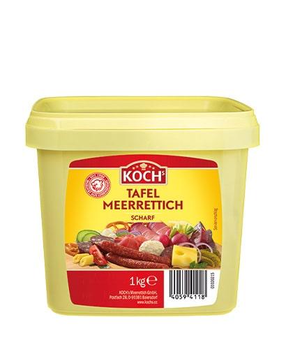 KOCHS Produkte Tafel-Meerrettich scharf 1kg-Eimer