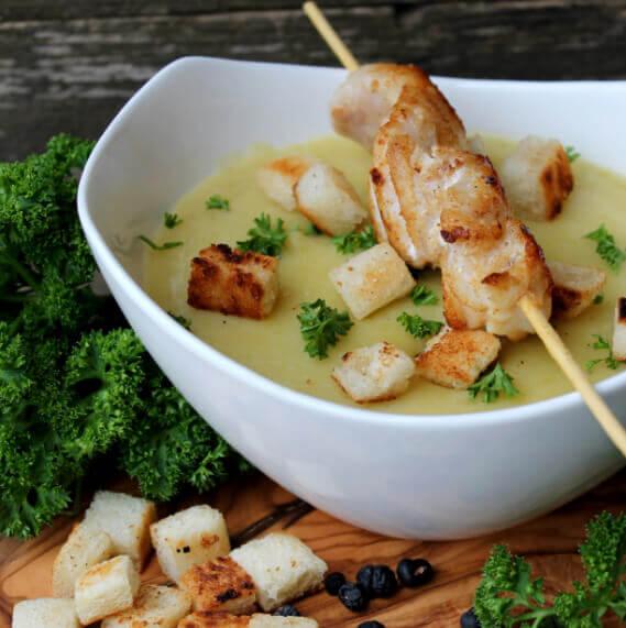 KOCHS Rezepte Meerrettich-Kartoffelsuppe